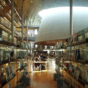 Central Library, University of Technology, Delft, Netherlands