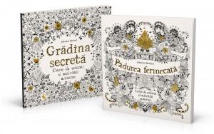 Carti de colorat pentru adulti de Johanna Basford